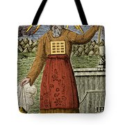 Figure Symbolizing Judaism Tote Bag