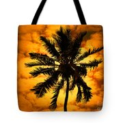 Fijian Sunset Tote Bag