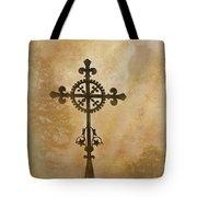 Filigree Cross The Forgotten Series 10 Tote Bag