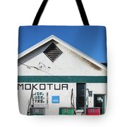 Filling Station, Mokotua, The Catlins Tote Bag