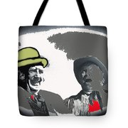 Film Homage Andy Devine  Chill Wills Old Tucson Arizona 1971-2009  Tote Bag