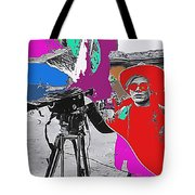 Film Homage Andy Warhol Lonesome Cowboys Old Tucson Arizona 1968-2013 Tote Bag