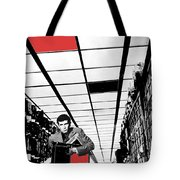 Film Homage Anthony Perkins Orson Welles The Trial 1962 Tote Bag