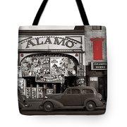 Film Homage Bela Lugosi Shadow Of Chinatown 1936 John Vachon Fsa Alamo Theater Washington D.c. 2010 Tote Bag