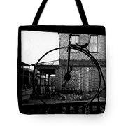 Film Homage Buster Keaton Our Hospitality 1923 Unicycle Old Tucson Arizona 1967-2008 Tote Bag