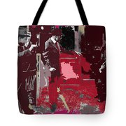 Film Homage Cameraman Billy Bitzer Director D.w. Griffith Collage Circa 1912-2012 Tote Bag