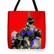Film Homage Cameron Mitchell The High Chaparral Fighting Apache Publicity Photo Collage Tote Bag