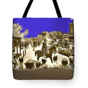 Film Homage Cameron Mitchell The High Chaparral Main Street Old Tucson Az Publicity Photo Tote Bag