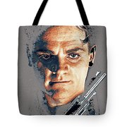 Film Homage Close-up James Cagney Angels With Dirty Faces 1939-2014 Tote Bag