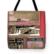 Film Homage Collage Drive-in Ads 1953 Tucson Arizona 2008 Tote Bag