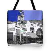Film Homage Director Allan Dwan Soldiers Of Fortune 1919 Lyric Theater Tucson Arizona 1919-2008  Tote Bag