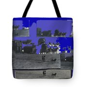 Film Homage Dirty Dingus Magee Collage Number 1 1970-2012 Mescal Arizona Tote Bag