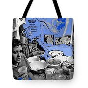 Film Homage Esther Williams Skirts Ahoy 1952 St. Patrick's Day Party Tucson Arizona 1985-2012 Tote Bag