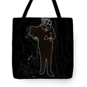 Film Homage Fred Astaire Top Hat 1935 Child In Top Hat Cane Circa 1886 Tucson Arizona 1886-2008 Tote Bag