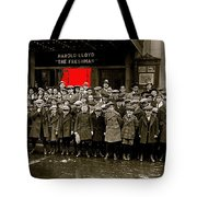 Film Homage Harold Lloyd The Freshman  City Orphans Ambassador Theater Washington D.c. 1925-2010  Tote Bag