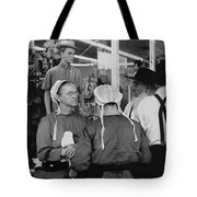 Film Homage Harrison Ford Witness 1985 Amish El Con Shopping Center Tucson Arizona 1968-2008 Tote Bag