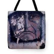Film Homage  Iron Eyes Cody The Big Trail 1930 Crying Indian Black Canyon Arizona 2004-2008  Tote Bag