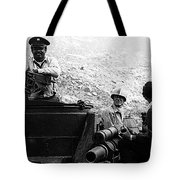 Film Homage Ivan Dixon Suppose They Gave A War And Nobody Came 1970 Golder Dam Tucson Az 1969-2008 Tote Bag