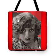 Film Homage Joan Crawford Louis Milestone Rain 1932 Collage Color Added 2010 Tote Bag
