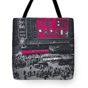 Film Homage John Gilbert King Vidor The Big Parade 1925 Color Added 2010 Tote Bag