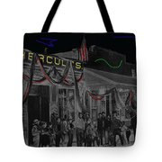 Film Homage John Wayne 'neath Arizona Skies 1934 California Powder Works Congress Tucson Az Ca.1900 Tote Bag