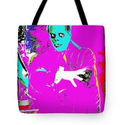 Film Homage Lon Chaney The Phantom Of The Opera 1925 Color Added 2008 Tote Bag