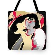 Film Homage Louise Brooks In Flapper Hat 1927-2013 Tote Bag