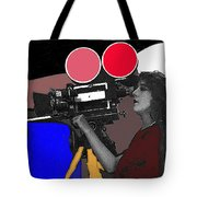 Film Homage Mary Pickford Little Annie Rooney 1923 Color Added 2010 Tote Bag