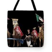 Film Homage Ride Vaquero 1953  2 Hispanic Riders  Rodeo Parade Tucson  Az 2002-2008 Tote Bag