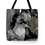 Film Homage Sadie Thompson 1 Gloria Swanson And Raoul Walsh 1927-2014 Tote Bag