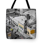 Film Homage The Gay Desperado World Premiere 1936 Fox Tucson Tucson Arizona Art Deco 2008 Tote Bag