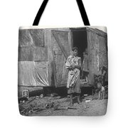 Film Homage The Grapes Of Wrath 1 1940 Family In Shack Perhaps Eloy Arizona 1940-2008 Tote Bag
