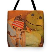 Film Homage The Muppet Movie 1979 Number 1 Froggie Colored Pencil American Flag Casa Grande Az 2004 Tote Bag