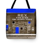 Film Homage The New Adventures Of Tarzan 1935 1935/1937-2010 Rex Theater Leland Mississippi Tote Bag
