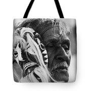Film Homage The Yaqui 1916 Pascola Dancer New Pascua Arizona 1969-2008   Tote Bag