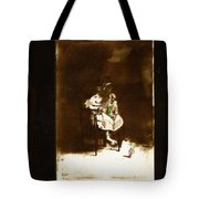 Film Homage Tod Browning Freaks 1932 Child With Doll The Devil Doll 1936 1890's-2008 Tote Bag