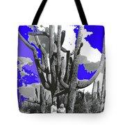 Film Homage Victor Fleming Jean Harlow Bombshell 1933 Saguaro Nat'l Monument Tucson 2008 Tote Bag