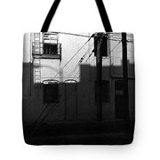 Film Noir Cinematographer Burnett Guffey Glenn Ford Framed 1947 Macarthur Hotel Tucson Az Tote Bag