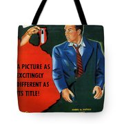 Film Noir Edmund O'brien D.o.a. 1949 Poster Color Added 2008 Tote Bag