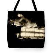 Film Noir Fritz Lang Glenn Ford  The Big Heat 1953 Out Of Control Fire Aberdeen South Dakota 1964 Tote Bag