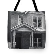 Film Noir Its A Wonderful Life 1947 Never Been Born Section Condemned House Minneapolis 1966 Tote Bag