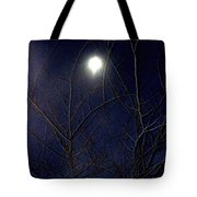 Film Noir Joseph H Lewis So Dark The Night 1946 Moon Trees Casa Grande Arizona 2000 Tote Bag