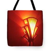 Film Noir Raymond Burr Robert Aldrich Red Light 1949 Art Deco Light Fox Tucson Theater 2006 Tote Bag