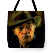 Film Noir Robert Mitchum Philip Marlowe Farewell My Lovely 1975 Publicity Photo Color Added 2013 Tote Bag