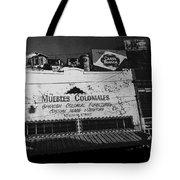 Film Noir Robert Mitchum Where Danger Lives 1950 1 Border Town Nogales Sonora Mexico Tote Bag