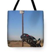 Film Noir Walter Hill Bruce Dern Ryan O'neal The Driver 1978 Car  Telephone Wire Arizona City Az Tote Bag