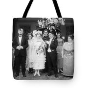 Film Still: By Golly, 1920 Tote Bag