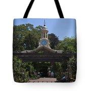 Filoli Clock Tower Garden Shop Tote Bag
