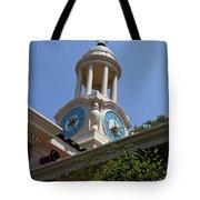 Filoli Garden Clock Tower Tote Bag