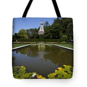 Filoli Garden Pond Tote Bag